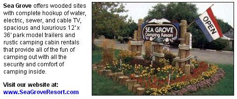 seagrove center page ad